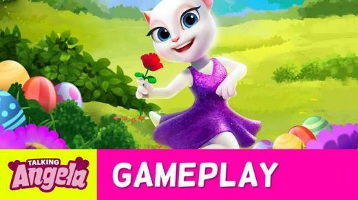 تحميل لعبة القطة أنجيلا المتكلمة المميزات والعيوب